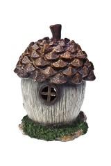Фигурка садовая Домик-шишка