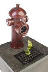 Фонтан декоративный электрический Душ для лягушки