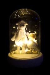 Украшение для интерьера светящееся Мишка с малышкой