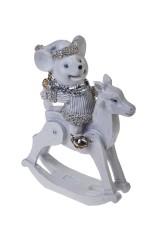 Фигурка Мышонок на лошадке