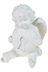 Фигурка Ангел с сердцем в руках