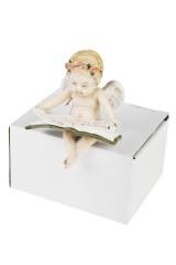 Фигурка Читающий ангелочек