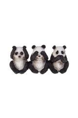 Фигурка Три панды