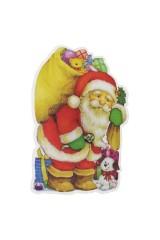 Держатель-магнит Дед Мороз с подарками