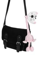 Игрушка мягкая Розовый кот