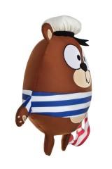 Игрушка мягконабивная Мишка-моряк