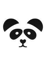 Набор держателей-магнитов Панда