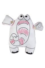 Игрушка мягконабивная Розовый слон