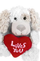 Игрушка мягкая Влюбленный пес