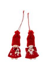 Набор кукол декоративных Малышка с сердцем