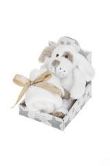 Игрушка мягкая ароматизированная Флаффи с одеяльцем