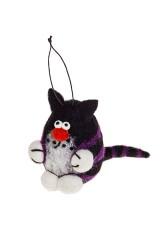 Украшение декоративное Полосатый котик