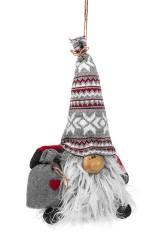 Кукла декоративная Гномик с мешочком