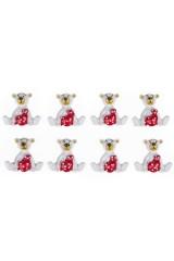 Набор украшений декоративных Любвиобильный Мишка