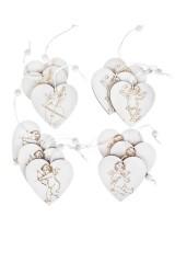 Набор украшений декоративных Сердца с ангелом