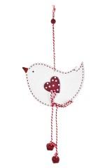 Украшение декоративное Влюбленная птичка