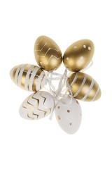 Набор яиц декоративных Золотое ассорти