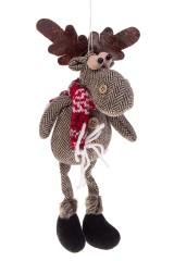 Игрушка мягконабивная Лосик в шарфе
