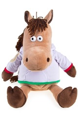 Игрушка мягкая Модный конь
