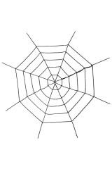 Украшение для интерьера Паучья сеть