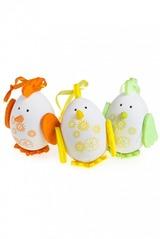Набор яиц декоративных Петушки