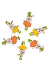Набор украшений декоративных Веселые зайчики