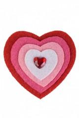 Сувенир Разноцветное сердце