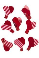 Набор сувениров Полосатые сердца
