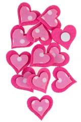 Набор сувениров Розовые сердечки