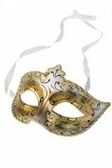 Сувенир карнавальный Маска Арлекино-Ноты