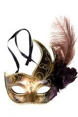 Сувенир карнавальный Маска-Лебедь