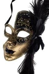 Маска карнавальная для взрослых Полумесяц