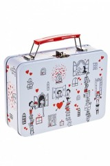 Шкатулка-чемоданчик Окошки любви