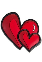 Держатель-магнит Двойное сердце