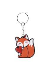 Брелок Влюбленная лиса