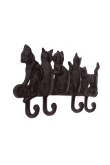 Крючок настенный Кошки
