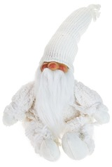 Кукла декоративная Дедушка в белом