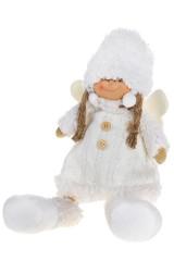 Кукла декоративная Ангелочек в свитерке