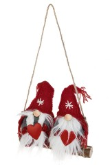 Набор кукол декоративных Гномы на качелях