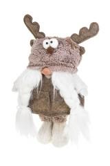 Кукла декоративная Гном в смешной шапке