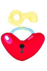 Игрушка мягконабивная Сердце с ключиком