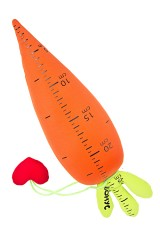 Игрушка мягконабивная Морковка - измеритель любви