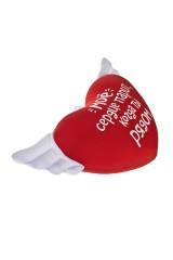 Игрушка мягконабивная Парящее сердце