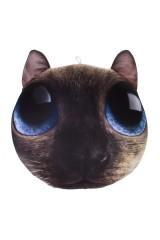 Игрушка мягконабивная Сиамский котик