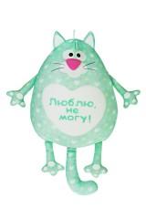 Игрушка мягконабивная Влюбленный котик