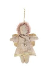 Кукла мягконабивная Кудрявый ангелок