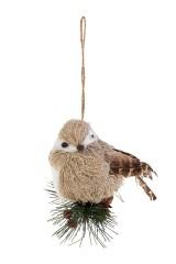 Украшение декоративное Птичка на веточке