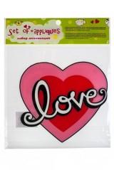 Аппликация Любовь