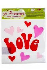 Набор аппликаций Любовь