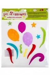 Набор аппликаций Воздушные шары